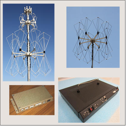 VHF/UHF/THF Direction Finders