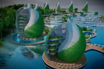 Hallazgos - Un resort futurista