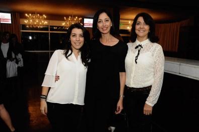 Cintia Rubio, Paola Brussa y Carina Romero