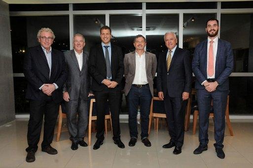 Jorge Carpman, Angel Seggiaro, Lisandro Rosental, Daniel Verger, Eduardo Cruz del Río y Patricio Rosental