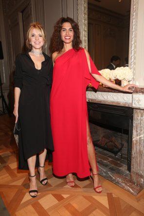 Carla Peterson y Florencia Raggi