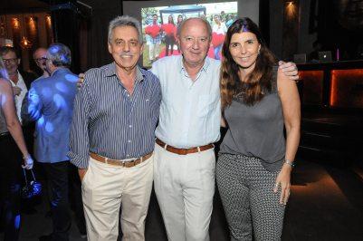 Daniel Gentile, Guillermo Juaristi y Germana Figueroa Casas