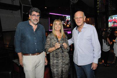 Gabriel Pérez, Cecilia Núñez y Luís Lamelas