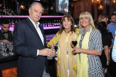 Juan Carlos Cura, Mariela Ansaldi y Ana María Tuttolomondo