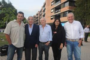 Gabriel Sánchez, Javier Vigo, Eduardo Schujman, Marina Schujman y Andrés Moretto
