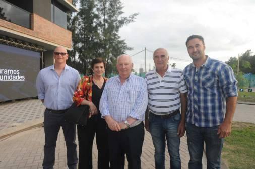 Martín Roldán, Andrea Gaviorno, Luís Trento, Hugo Roldán y Diego Roldán