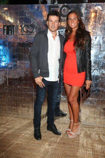 Guillermo Coria y su mujer Carla Francovigh
