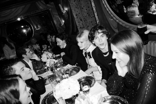PRE-BAFTA-Lucy-Boynton-and-Timothee-Chalamet-and-Rami-Malek-Chanel