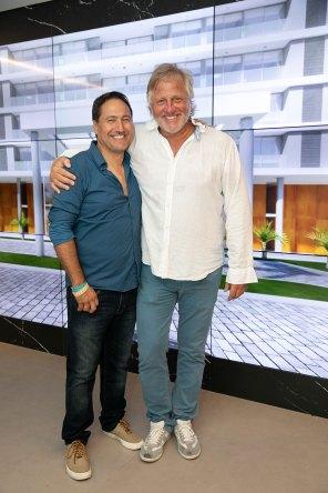 Daniel Weiss y Héctor Liberman