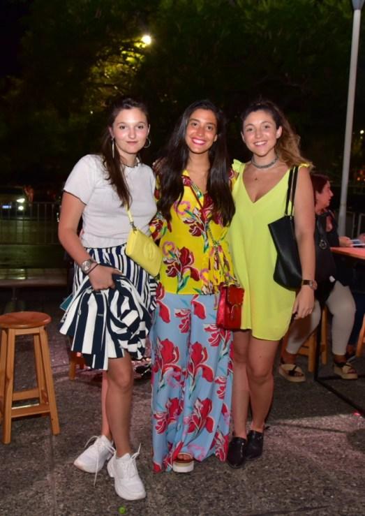 Anner Modestini, Barbi Chalon y Giuli Modestini