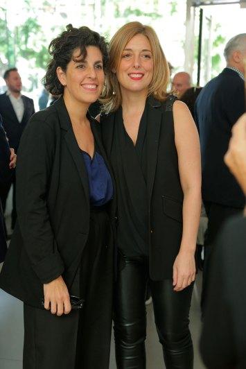 Alejandra Aguado y Florencia Malbran
