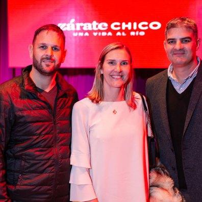 Fabián Torres, Florencia Gugliatto y Fernando Gugliatto