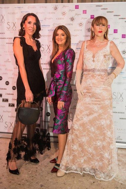 Julieta Latorre, Claudia Oyhandy y Muñeca Moore
