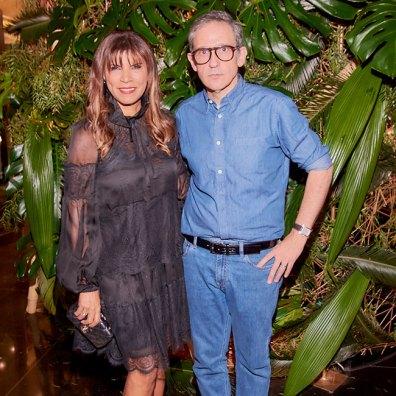 Anamá Ferreira y Adrián Brown