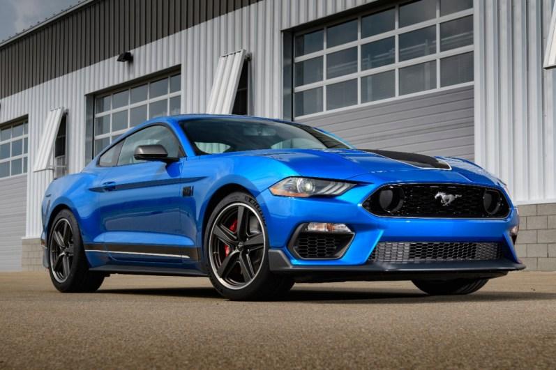 Mustang Mach 1, la edición limitada de Ford