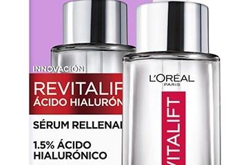 Sérum Revitalift Hialurónico, el estreno de L´Oréal Paris
