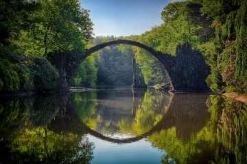 Rakotzbrücke, el puente del diablo