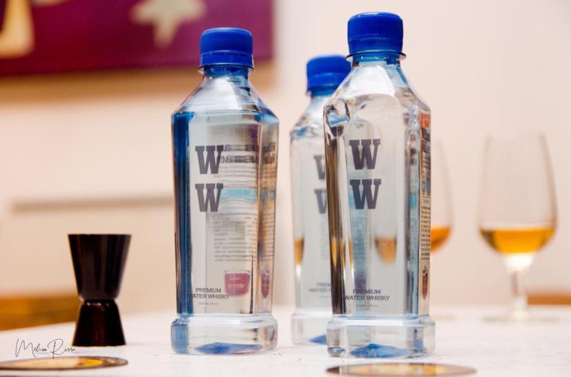 William Wallace Premium Water Whisky, el agua imprescindible en una cata