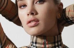 Look de maquillaje, una propuesta de Burberry para el verano 2021