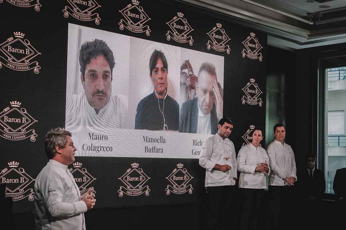 El-jurado-presenciando-la-final-del-Prix-Cuisine-de-Baron-B