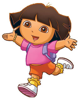 dora coloring lots of dora coloring pages and printables