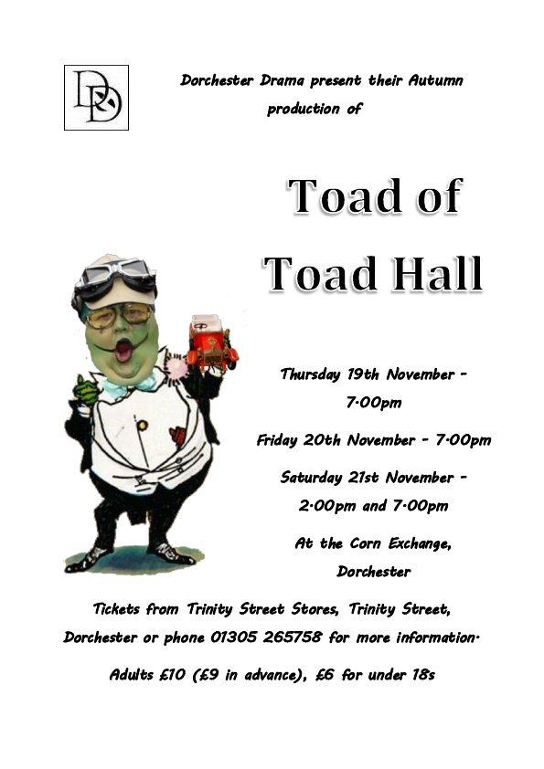 Toad schools flyer