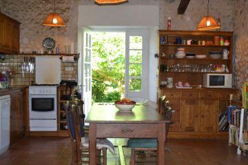 Kitchen window in House
