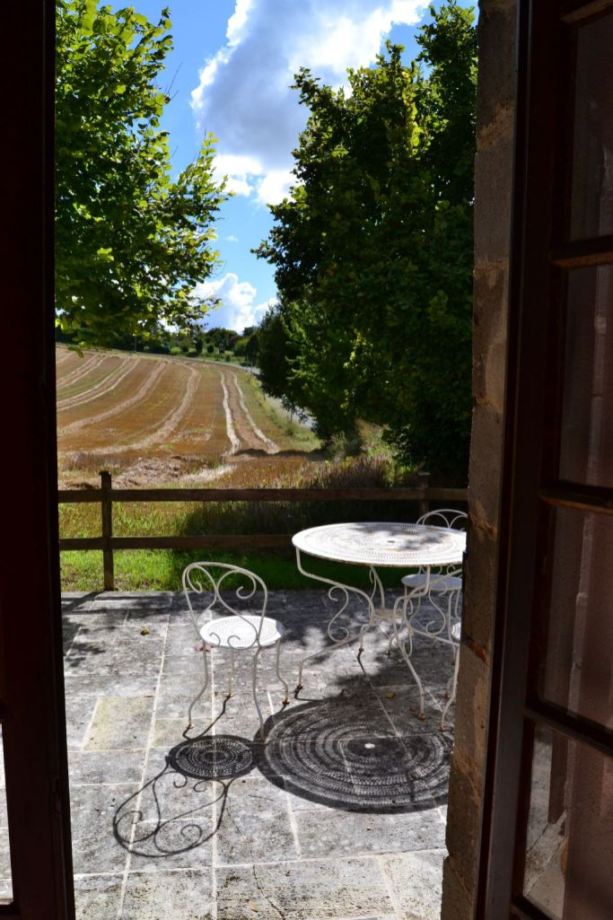 Terrace at South Barn view