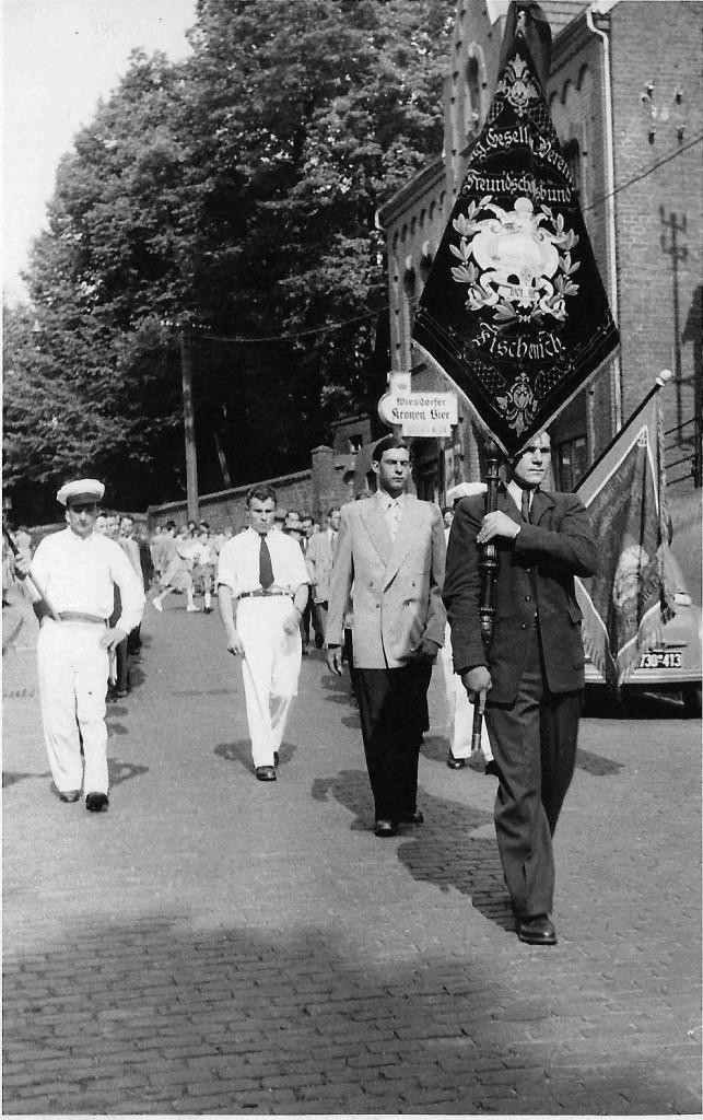 Junggesellenverein 1952 - Gaststätte Luschnath - Foto von und mit Josef Zündorf