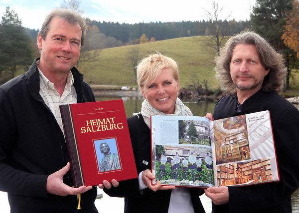 Die Autoren des neuen Salzburgbuches.