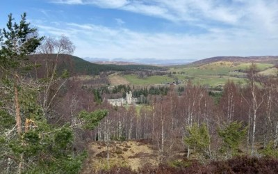 Walking in the Wide-Open Spaces of Aberdeenshire