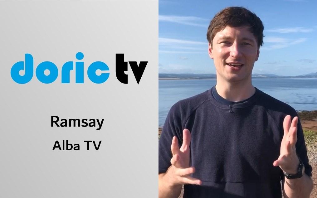 Doric Tv meets Alba TV