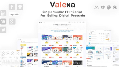 Photo of Valexa v1.2.1 – PHP Script For Selling Digital Products And Digital Downloads PHP Script
