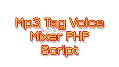 Photo of Mp3 Tag Voice Mixer PHP Script