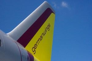 Germanwings Heckflosse