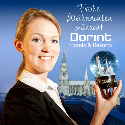 Frohe Weihnachten. Made by Dorint Hotels & Resorts.