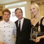 Die Dorint Oskar Gewinner 2014 mit Neue Dorint GmbH Geschäftsführer Olaf Mertens.