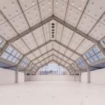"""Deichtorhallen: Blick in die sanierte und leere Halle für aktuelle Kunst, Februar 2015 Fotonachweis: """"Foto Henning Rogge Deichtorhallen Hamburg_pw"""""""