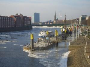 Bremen Schlachte Martinianleger
