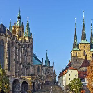 Erfurt Kathedrale und Severikirche