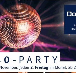 Ü40 Party Bad Neuenahr Flyer