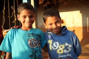 Sagar and Samir, from the left.