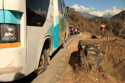 Travel: Two Buses, Three Jeeps, A Car, A Cat and A Hundred Dollar Bill