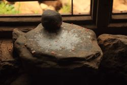 """Inside the kitchen: """"Mortar and Pestle,"""" the traditional rudimentary variety!"""