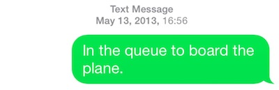 airport SMS #1 in the queue 1556 75px