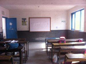 The whiteboard.