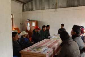 Meeting with the Raithane School SMC.