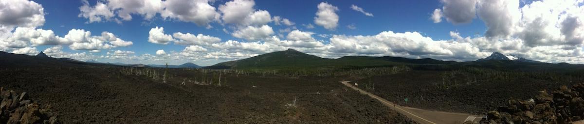 McKenzie Pass panorama