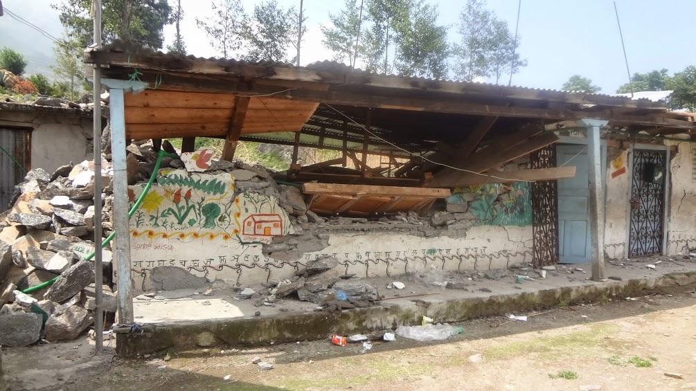 Post Quake - Taltuleshwori administrative building