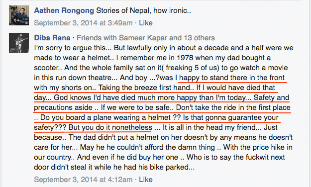 2.1 stories of Nepal comments